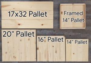 Pallet Size Comparison