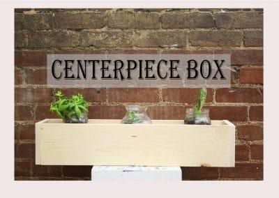 Centerpeice Boxes