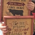 2/5 DIY Wood Sign Workshop